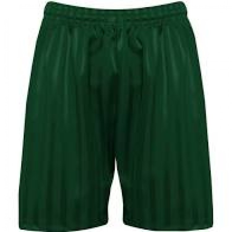 Bottle Green PE Shorts
