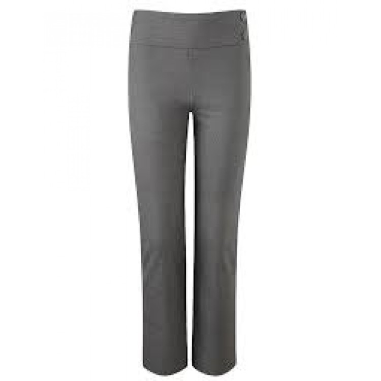 Girl's Stretch Trousers (Grey or Black)