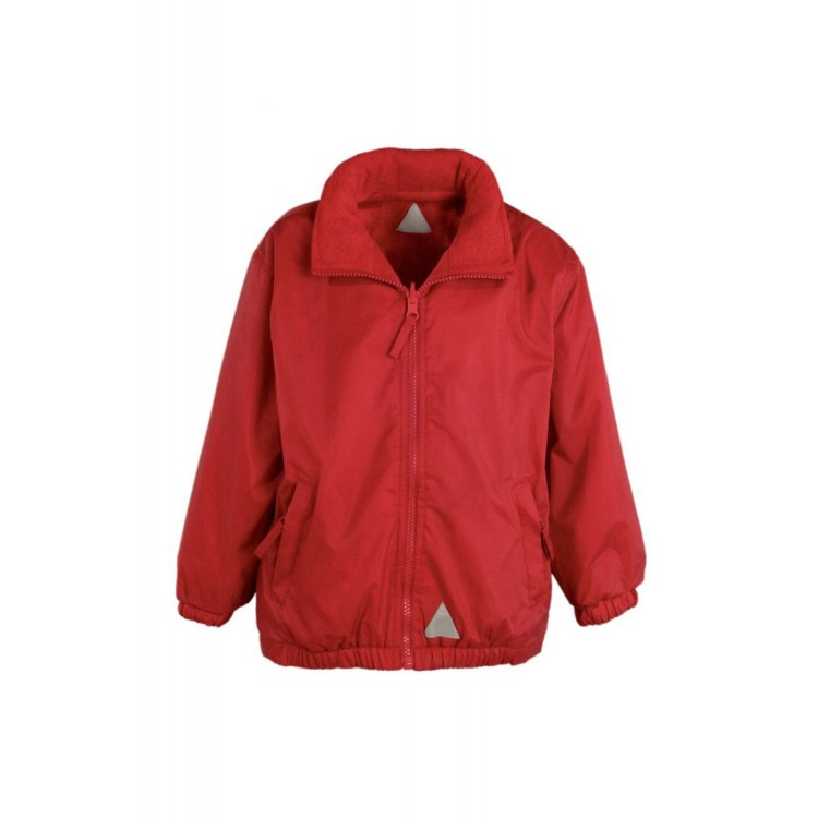 South Avenue Red Reversible School Jacket