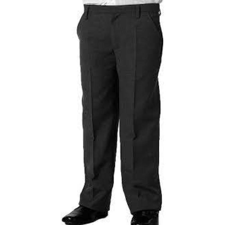 Sturdy Fit Charcoal Boy's Trouser